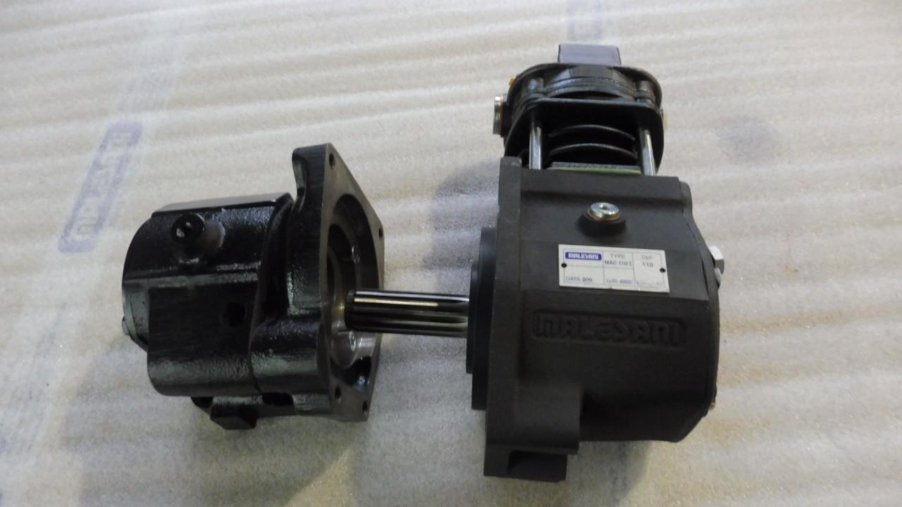 Compressore con Trascinamento ad Ingranaggi tipo MAC 110/I 110cc per motori SAME