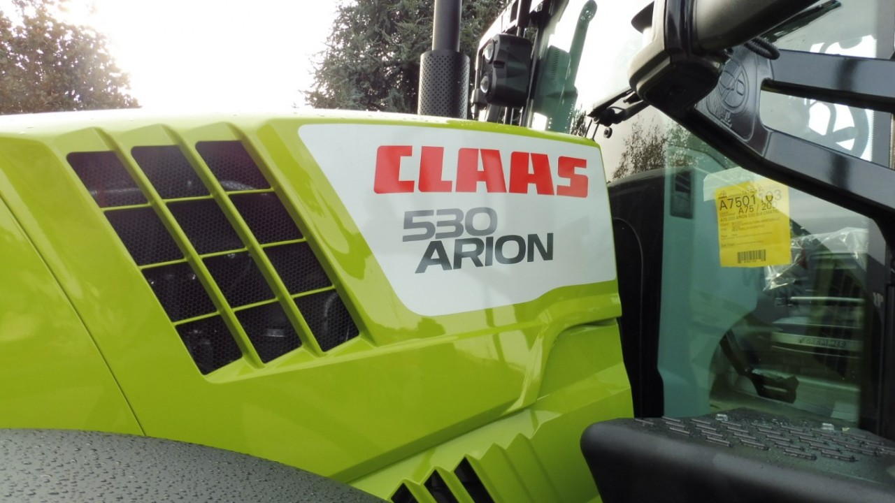 Impianto di frenatura idraulico monolinea tipo CUNA su trattore CLAAS ARION 530 (A75) CMATIC Mother Regulation