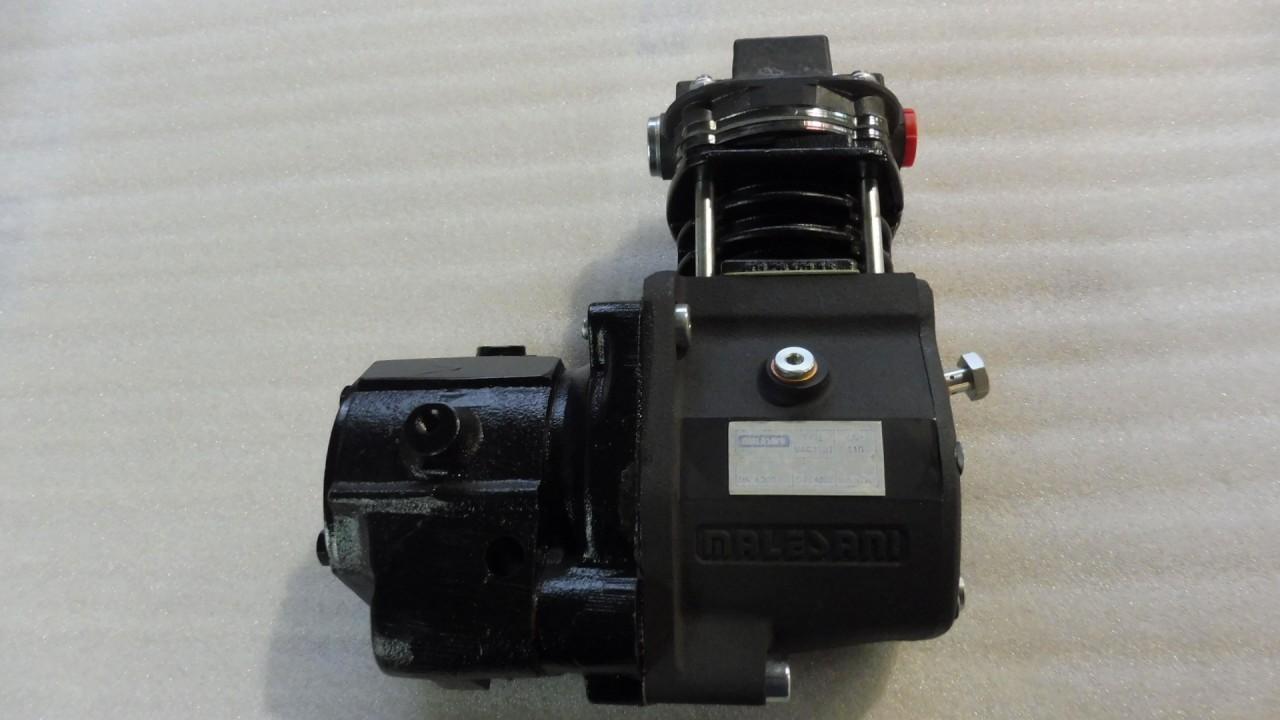Compressore con Trascinamento ad Ingranaggi tipo MAC 110/I con PDP