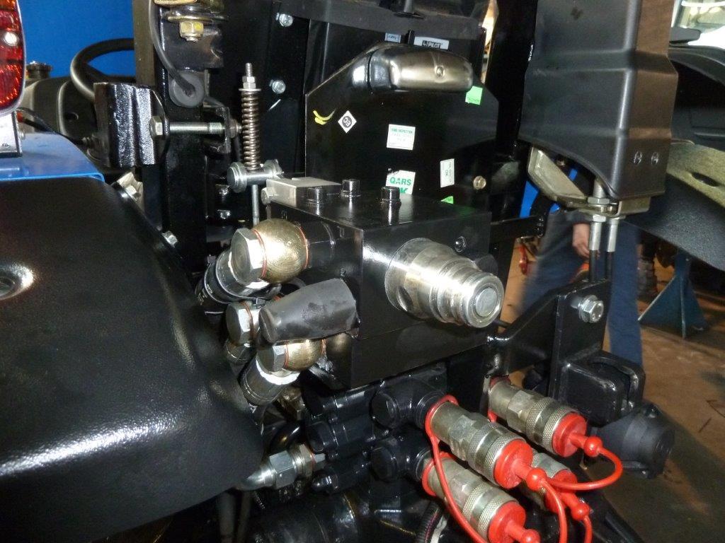 Impianto di frenatura idraulico monolinea MA FHS