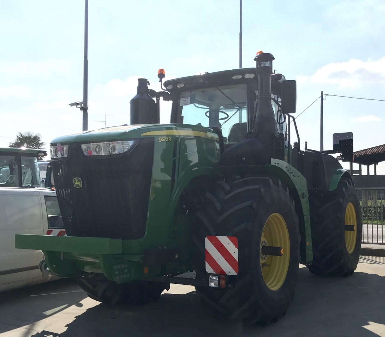 Impianto di frenatura pneumatico tipo Europa su trattore JOHN DEERE 9570 R