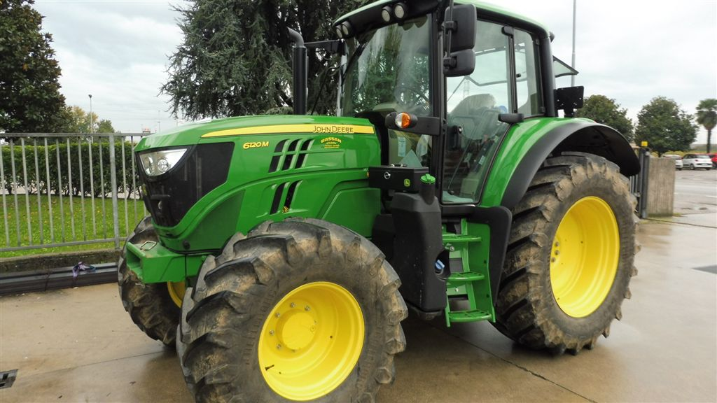 Impianto di frenatura pneumatico per trattore JOHN DEERE 6120 M Mother Regulation