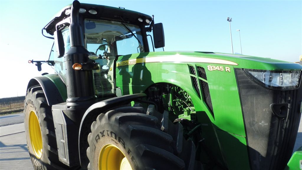 Impianto di frenatura pneumatico per trattore JOHN DEERE 8345 M Mother Regulation