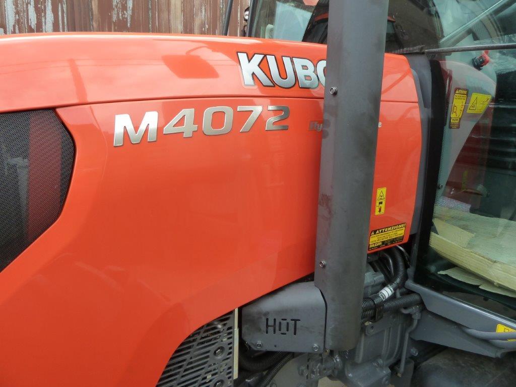 Impianto di Frenatura Pneumatico installato su Kubota M 4072 (MR)