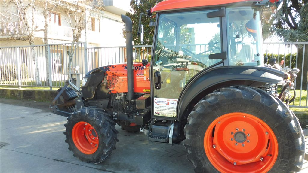 Impianto di frenatura pneumatico per trattore KUBOTA M 5101 NARROW Mother Regulation