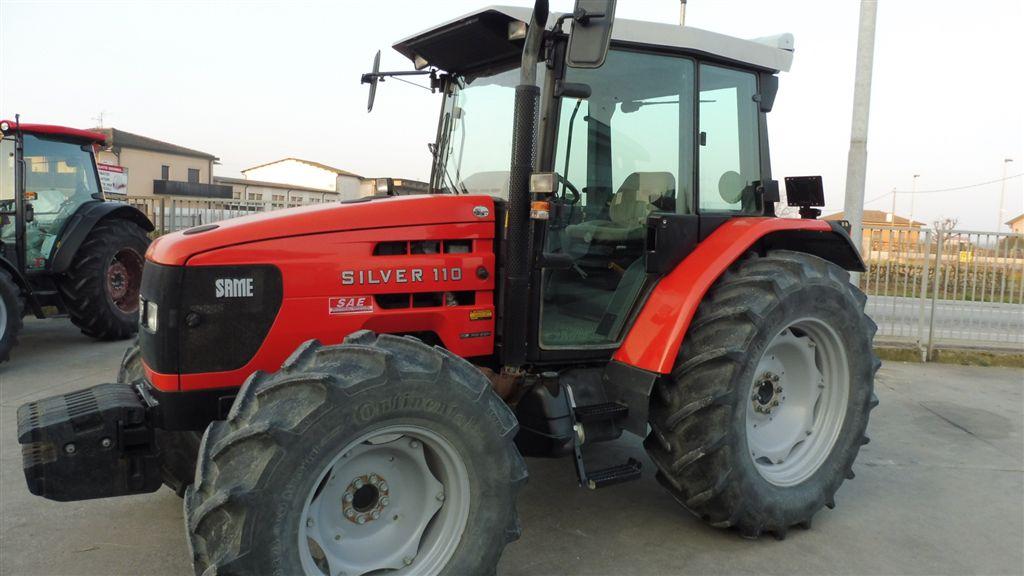 Impianto di frenatura pneumatico per trattore SAME SILVER 110 DT CAB. 4 CILINDRI 6